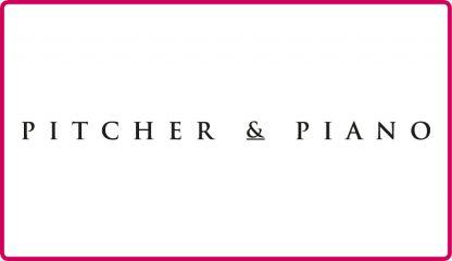 Pitcher & Piano Logo