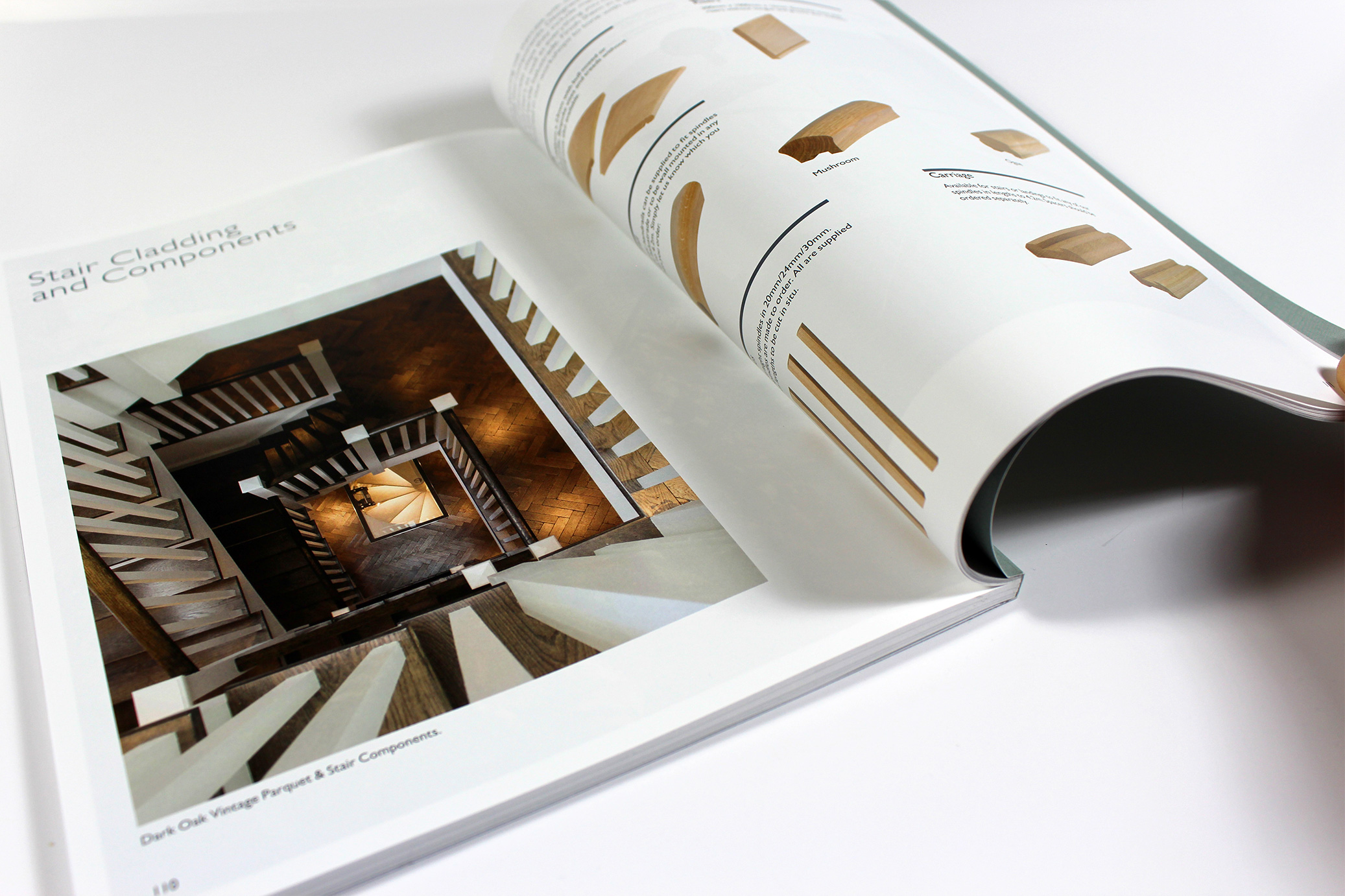Perfect Bound Printed Brochure