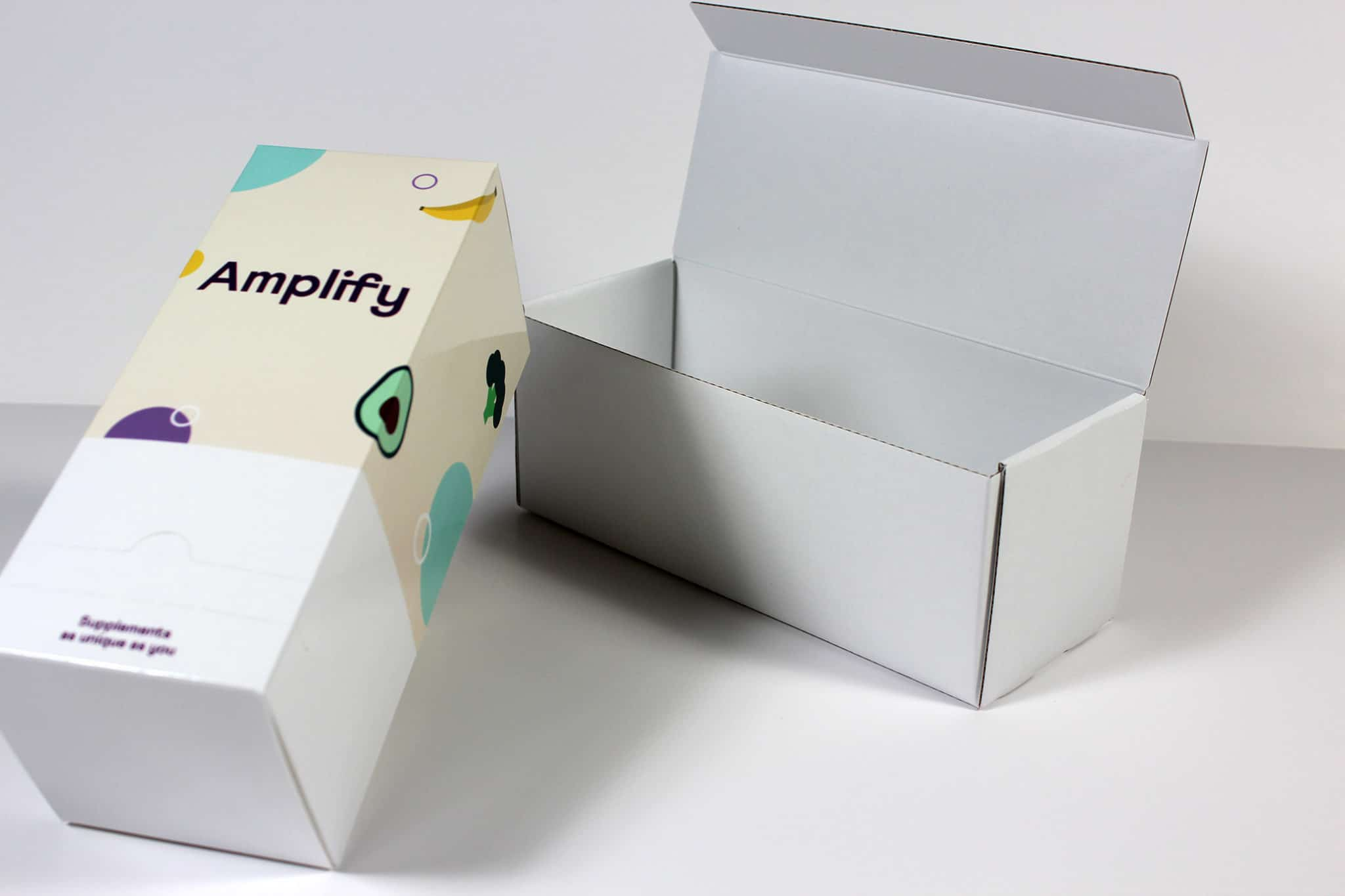 Printed supplement dispenser with outer mailing box